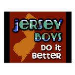 Jersey Boys Do It Better Post Card