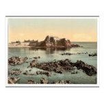 Jersey, castillo de Elizabeth, St. Heliers, canal  Postales