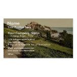 Jersey, castillo de Mont Orgueil, isla de canal, E Tarjeta De Visita