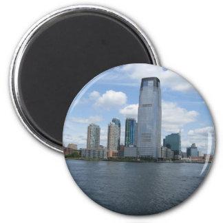Jersey City 2 Inch Round Magnet