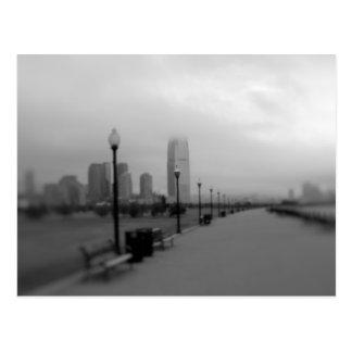 Jersey City del parque de estado de la libertad Postal