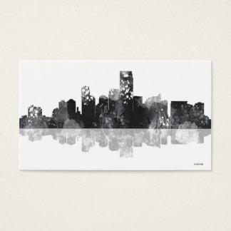 JERSEY CITY, NEW JERSEY SKYLINE BUSINESS CARD