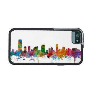 Jersey City New Jersey Skyline iPhone 5 Covers