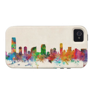 Jersey City New Jersey Skyline iPhone 4 Case