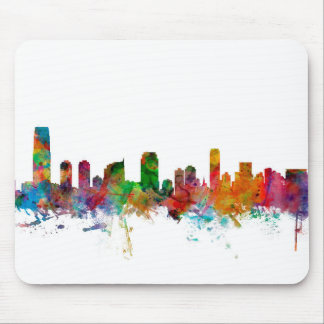 Jersey City New Jersey Skyline Mouse Pad