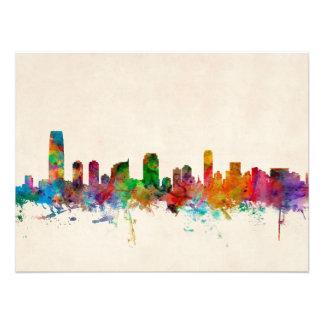 Jersey City New Jersey Skyline Photograph