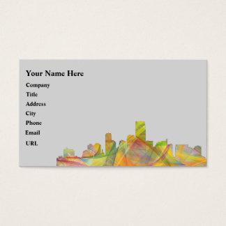 JERSEY CITY, NEW JERSEY SKYLINE WB1 - BUSINESS CARD