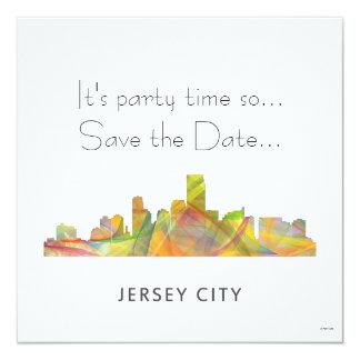 JERSEY CITY, NEW JERSEY SKYLINE WB1 - INVITATION