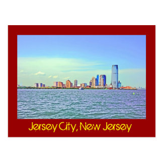Jersey City, New Jersey, U.S.A. Postcard