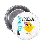 Jersey City NJ Chick Button