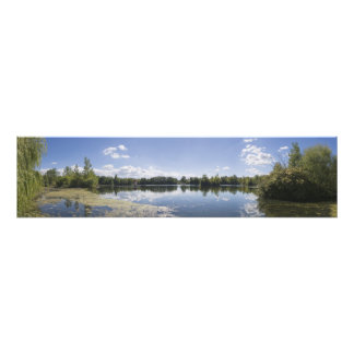 Jersey City Reservoir South View Panoramic Photo Print