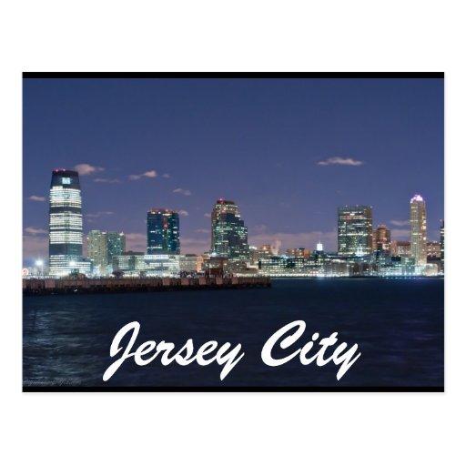 Jersey City Tarjeta Postal