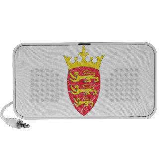 Jersey Coat Of Arms Notebook Speaker
