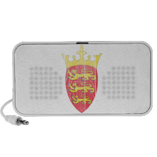 Jersey Coat Of Arms Travelling Speaker