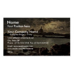 Jersey, Corbiere Lighthouse by moonlight, Channel Double-Sided Standard Business Cards (Pack Of 100)