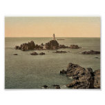 Jersey, Corbiere Lighthouse, I, Channel Islands, E Posters