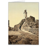 Jersey, Corbiere Lighthouse, III, Channel Islands, Greeting Card