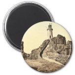 Jersey, Corbiere Lighthouse, III, Channel Islands, Fridge Magnets