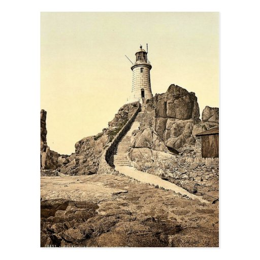 Jersey, Corbiere Lighthouse, III, Channel Islands, Post Cards