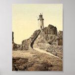 Jersey, Corbiere Lighthouse, III, Channel Islands, Poster