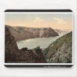 Jersey, costa del agujero del diablo, canal Islan Alfombrilla De Raton
