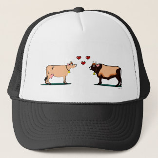 Jersey Couple (light) Trucker Hat