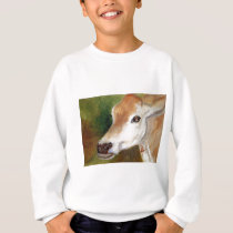 Jersey Cow aceo Kid's Sweatshirt