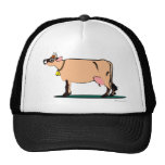Jersey Cow (dark) Trucker Hats