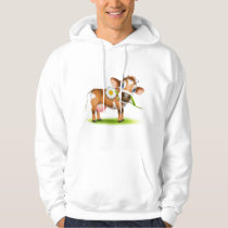 Jersey Cow Hoodie