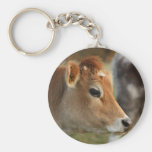 Jersey Cow Key Chain