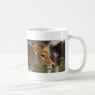 Jersey Cow Classic White Coffee Mug