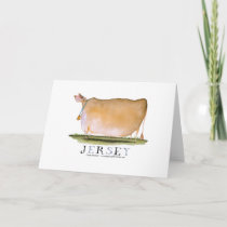 jersey cow, tony fernandes card