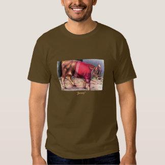 'Jersey' dark T Shirt
