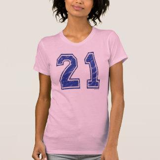 Jersey de 21 personalizados camiseta