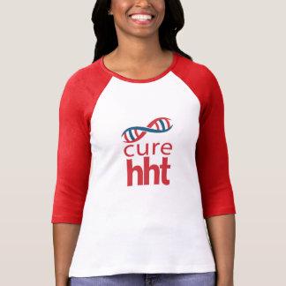 Jersey de béisbol de las señoras de la curación camiseta