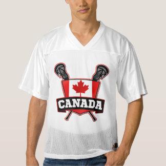 Jersey de Canadá LaCrosse del nombre y del número