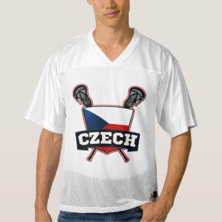 Jersey de Checo LaCrosse del nombre y del número