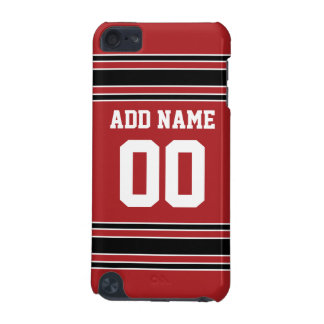 Jersey de equipo con nombre y número de encargo funda para iPod touch 5G