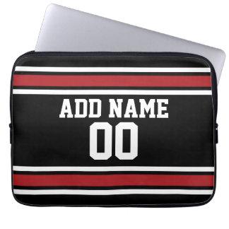 Jersey de equipo con nombre y número de encargo funda ordendadores