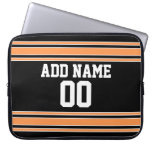 Jersey de equipo con nombre y número de encargo mangas computadora