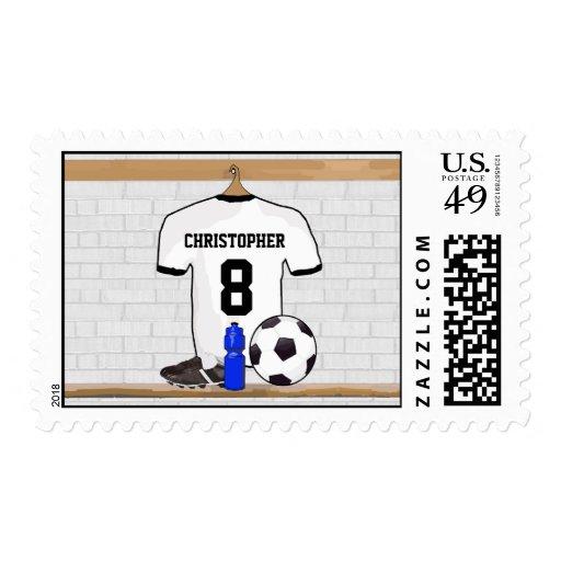 Jersey de fútbol negro personalizado del fútbol de envio
