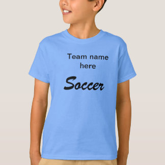 Jersey de fútbol para los equipos recreativos