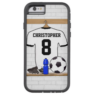 Jersey de fútbol personalizado funda de iPhone 6 tough xtreme