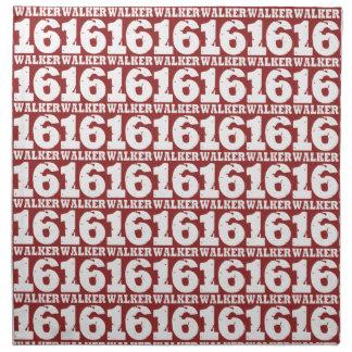 Jersey de la campaña del caminante 16 apenado servilletas