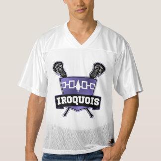 Jersey de LaCrosse del Iroquois del nombre y del