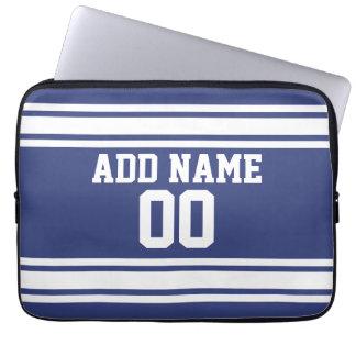 Jersey de los deportes con nombre y número de mangas portátiles