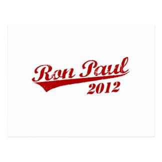 Jersey de RON PAUL Tarjetas Postales