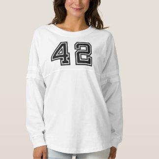 Jersey del alcohol de las mujeres del número 42