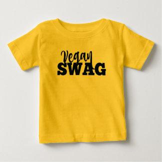 Jersey del bebé del SWAG del VEGANO