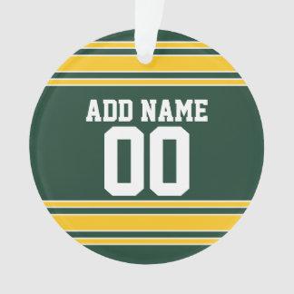 Jersey del fútbol con número conocido de encargo